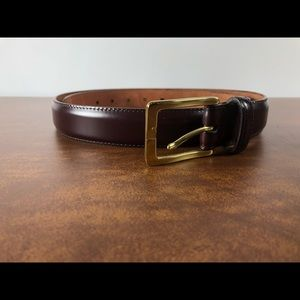 Cole Haan brown Leather Belt A09273 95/38, D8